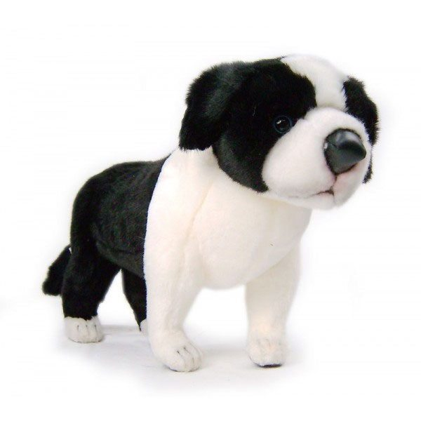 Cachorro de Border Collie de peluche