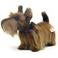 Perro Scottish Terrier de peluche